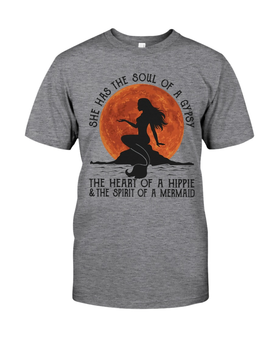 HP-A-2306203-NT-She Has The Soul Classic T-Shirt