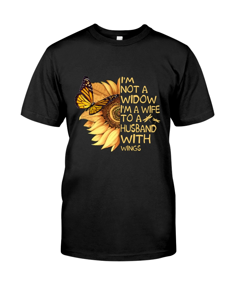 Im A Wife To A Husband With Wings Classic T-Shirt