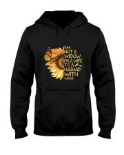 Im A Wife To A Husband With Wings Hooded Sweatshirt thumbnail