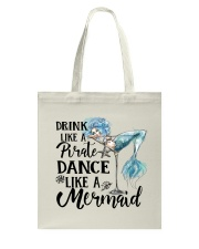 Drink Like A Pirate Tote Bag thumbnail