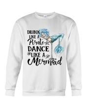Drink Like A Pirate Crewneck Sweatshirt thumbnail