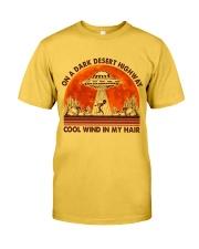 On A Dark Desert Highway Classic T-Shirt front