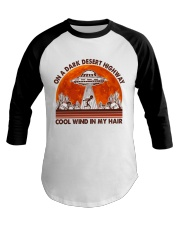 On A Dark Desert Highway Baseball Tee thumbnail
