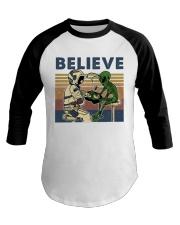 Believe In Alien Baseball Tee thumbnail