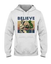 Believe In Alien Hooded Sweatshirt thumbnail