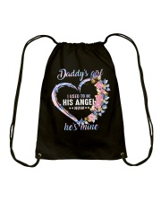 Daddys Girl I Used To Be His Angel Drawstring Bag thumbnail