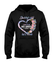 Daddys Girl I Used To Be His Angel Hooded Sweatshirt front