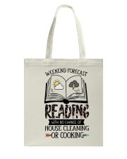 Weekend Forecast Reading Tote Bag thumbnail