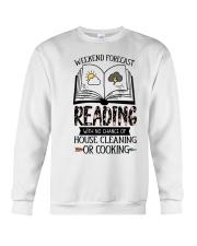 Weekend Forecast Reading Crewneck Sweatshirt thumbnail