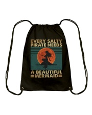 Every Salty Pirate Needs Drawstring Bag tile