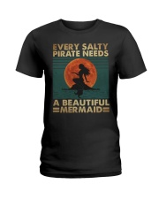 Every Salty Pirate Needs Ladies T-Shirt tile