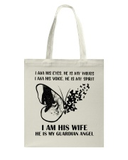 I Am His Wife Tote Bag tile