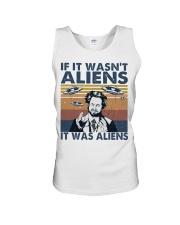 It Was Aliens Unisex Tank thumbnail