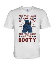 For The Land Of The V-Neck T-Shirt thumbnail