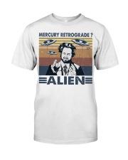 Mercury Retrograde Alien Classic T-Shirt front
