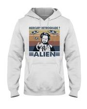 Mercury Retrograde Alien Hooded Sweatshirt thumbnail