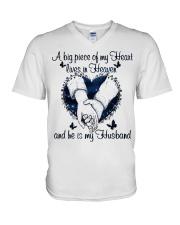 A Big Piece Of My Heart V-Neck T-Shirt thumbnail