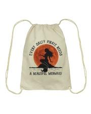 Every Salty Pirate Needs Drawstring Bag thumbnail