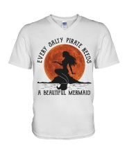 Every Salty Pirate Needs V-Neck T-Shirt thumbnail