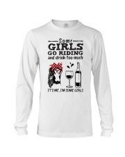 Some Girls Go Riding Long Sleeve Tee thumbnail