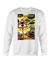 On A Dark Desert Highway Crewneck Sweatshirt thumbnail