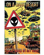 On A Dark Desert Highway 11x17 Poster front