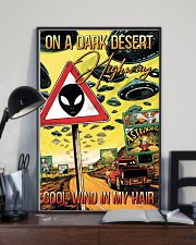 On A Dark Desert Highway 11x17 Poster lifestyle-poster-2