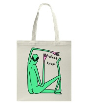 What Ever Funny Alien Tote Bag thumbnail