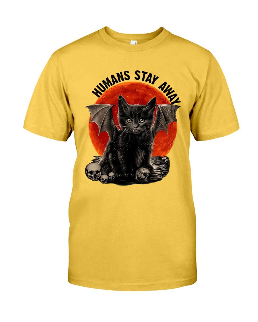 Humans Stay Away Classic T-Shirt