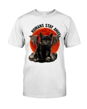 Humans Stay Away Classic T-Shirt tile