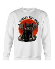 Humans Stay Away Crewneck Sweatshirt thumbnail