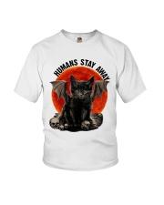 Humans Stay Away Youth T-Shirt thumbnail