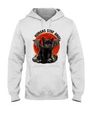 Humans Stay Away Hooded Sweatshirt thumbnail