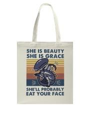 She Is Beauty Tote Bag thumbnail