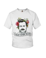 I Reget Nothing The End Youth T-Shirt thumbnail