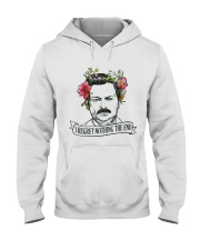 I Reget Nothing The End Hooded Sweatshirt thumbnail