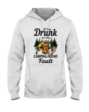 If Im Drunk Hooded Sweatshirt front