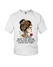 Never Trust Anyone Youth T-Shirt thumbnail