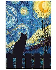 Cat Starry Night Art Poster 11x17 Poster front