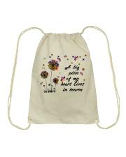A Big Peace Of My Heart Drawstring Bag thumbnail