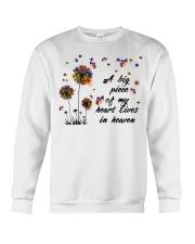 A Big Peace Of My Heart Crewneck Sweatshirt thumbnail