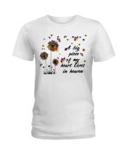 A Big Peace Of My Heart Ladies T-Shirt thumbnail