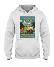And Into The Ocean I Go Hooded Sweatshirt thumbnail