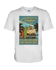 And Into The Ocean I Go V-Neck T-Shirt thumbnail