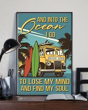 And Into The Ocean I Go 11x17 Poster lifestyle-poster-2