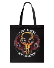I Got Aliens Tote Bag thumbnail
