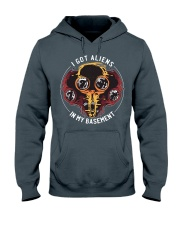 I Got Aliens Hooded Sweatshirt tile