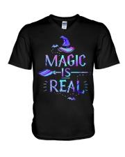 Magic Is Real V-Neck T-Shirt thumbnail