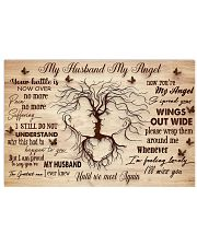 My Husband My Angel 17x11 Poster front