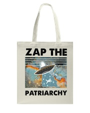 Zap The Patriarchy Tote Bag thumbnail